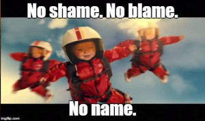 no blame sh